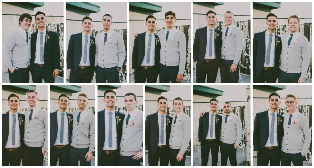 groomsmen Collage